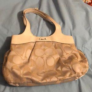 "Coach purse 16""x10"""